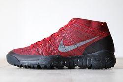 Nike Flyknit Trainer Chukka Fsb University Red Thumb