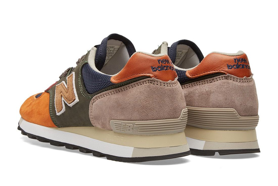 New Balance Made In England Surplus Pack Green Navy 575 1