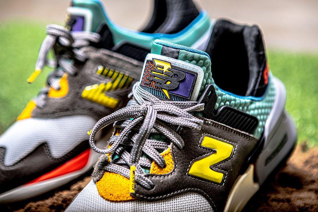 Bodega New Balance No Bad Days Sneaker Freaker2 Up Close