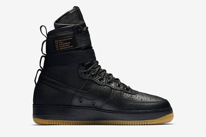 Nike Sf Air Force 1 Black 3
