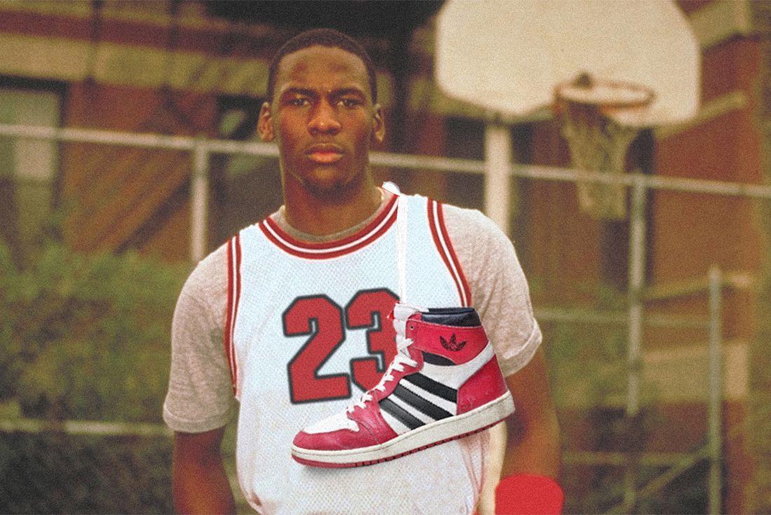 Michael Jordan Adidas Large