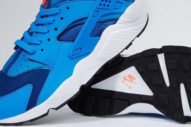Nike Air Huarache Gym Blue Mango 1