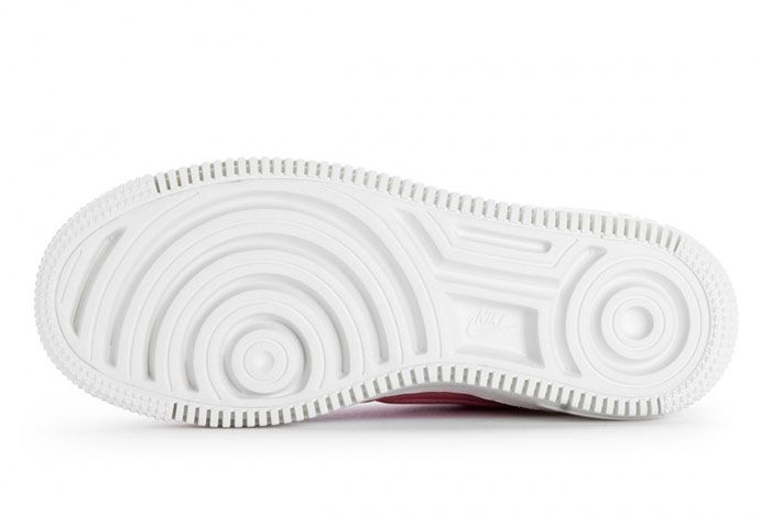 Nike Wmns Air Force 1 Upstep Red Stardust 6