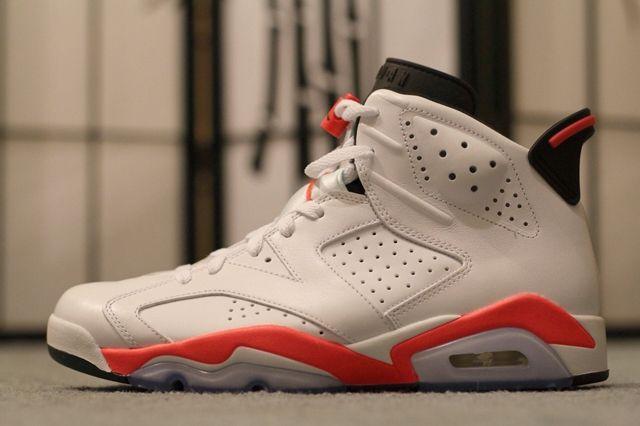 Air Jordan 6 White Infrared 1