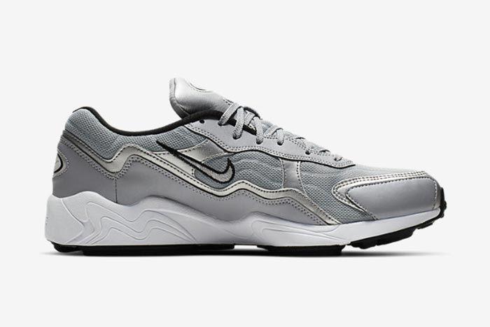 Nike Air Zoom Aplha Silver Bq8800 001 Right Side Shot