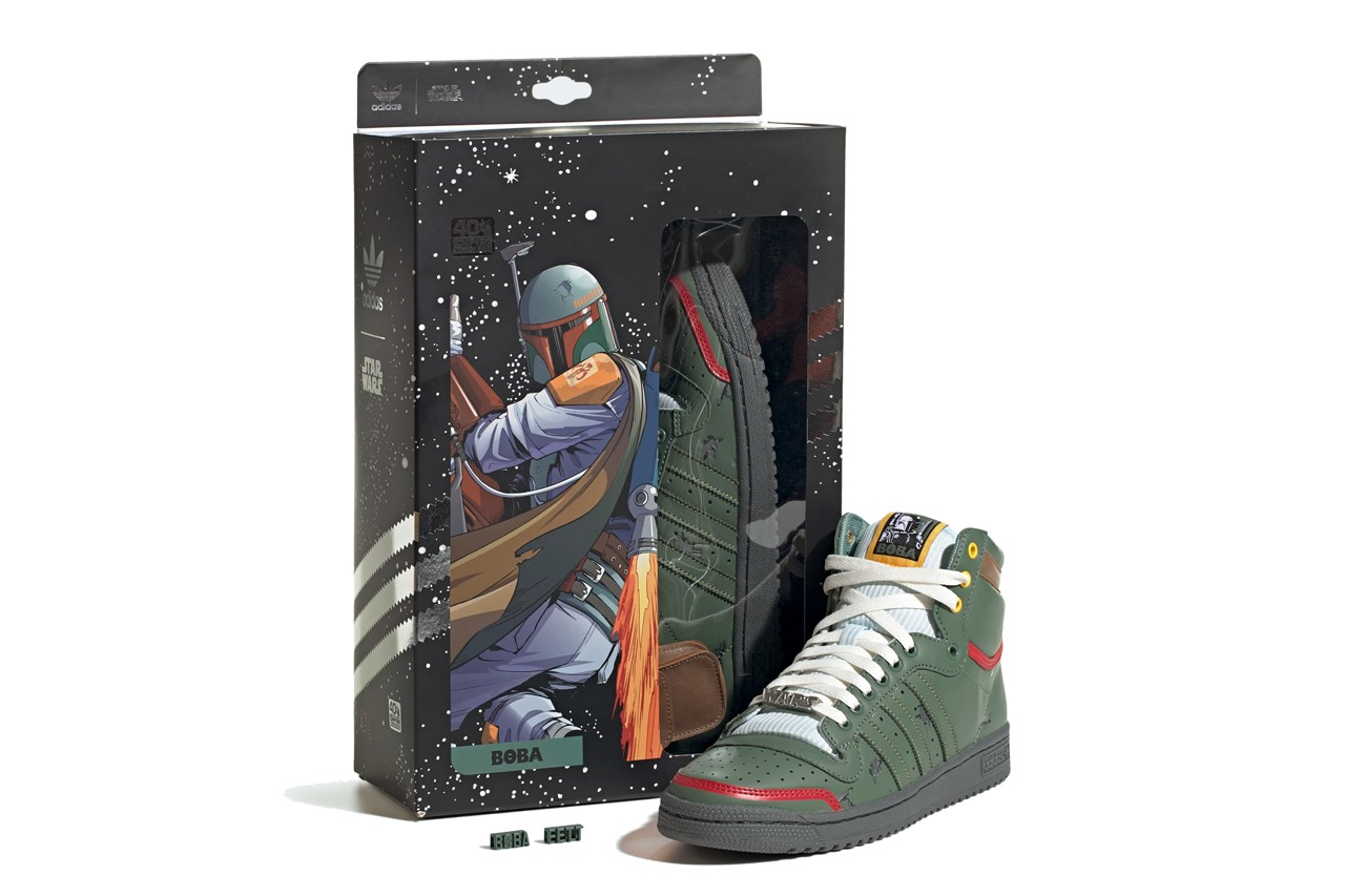 Star Wars x adidas Boba Fett Top Ten 2020