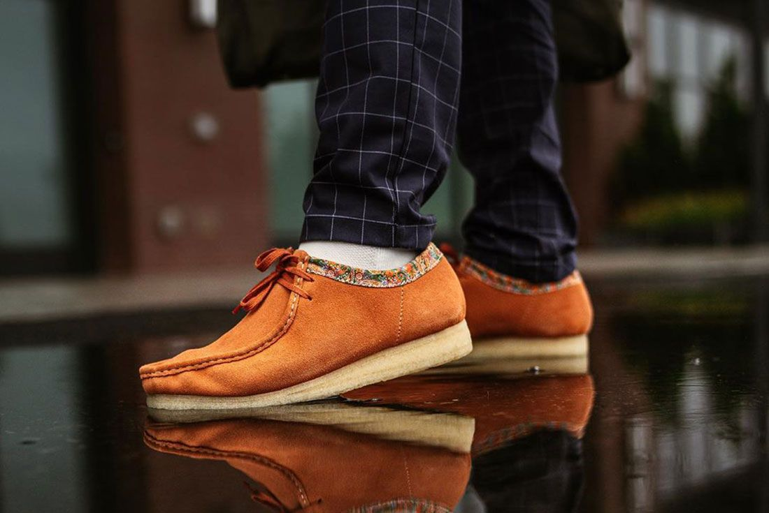 Nickgetek Clarks Wallabee Stussy