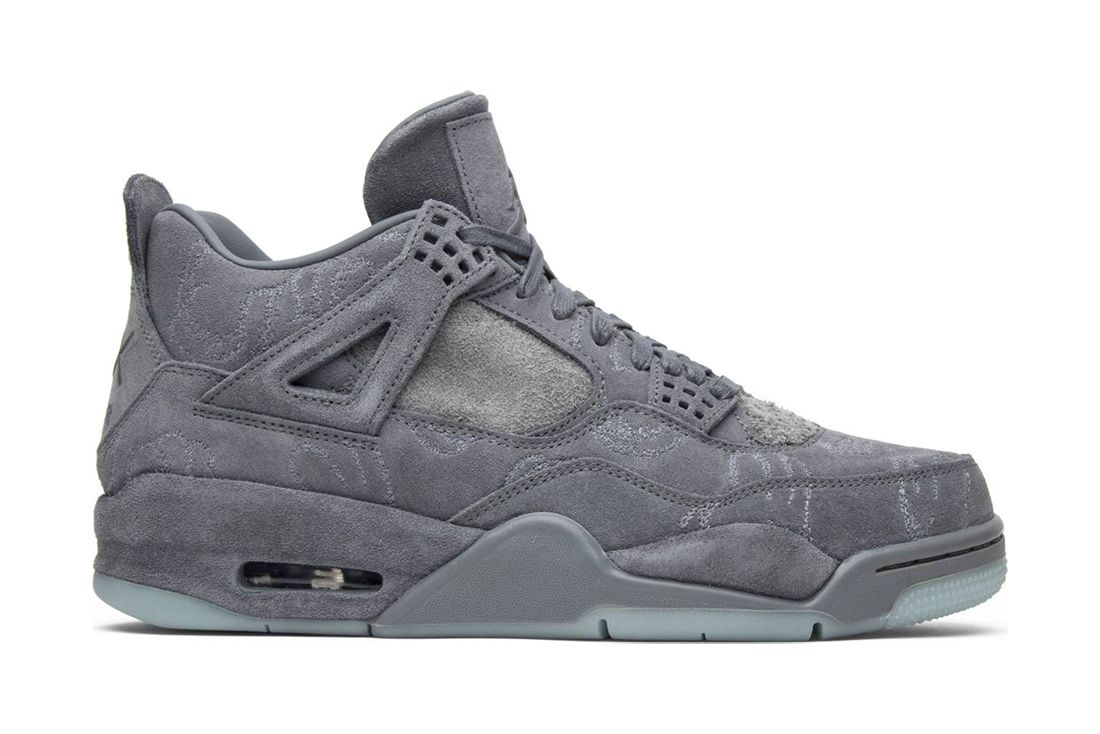 Kaws Grey Air Jordan 4 Best Greatest Ever All Time Feature