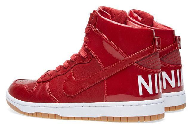 Nike Dunk Lux Gym Red 3