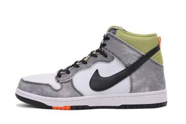 Nike Dunk Cmft Wolf Grey Green Orange 3
