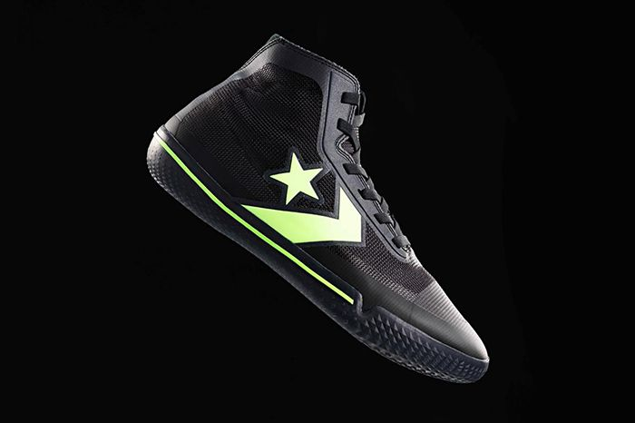 Converse All Star Pro Bb Hyperbrights Pack Black Volt Release Date Lateral