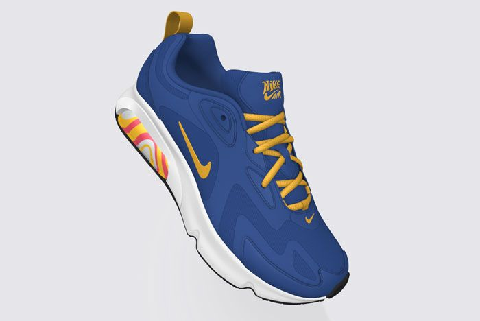 Nike Air Max 200 Psyched By You Blue Full