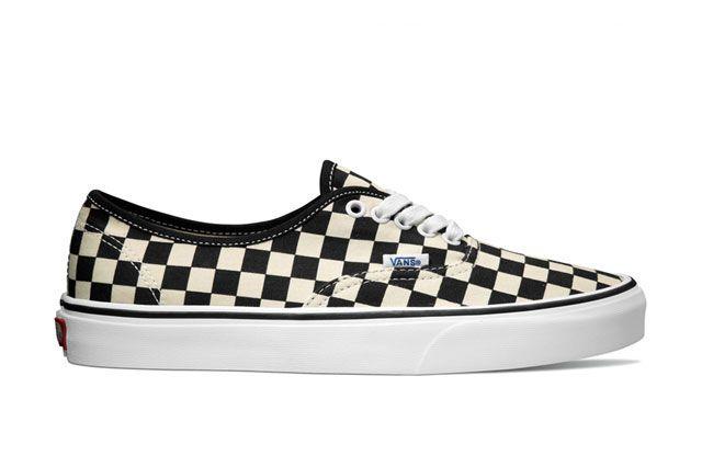 Vans Classics Authentic Golden Coast Black White Checker 2014