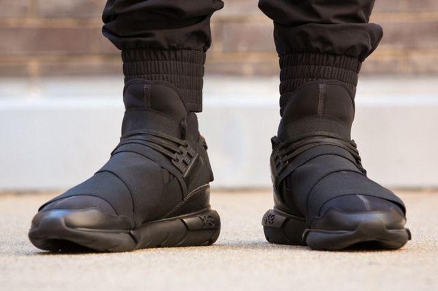 Adidas Y 3 Qasa High All Black 6