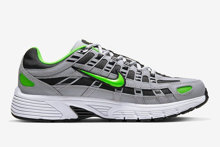 Nike P 6000 Wolf Grey Electric Green Cd6404 005 Release Date 2Official