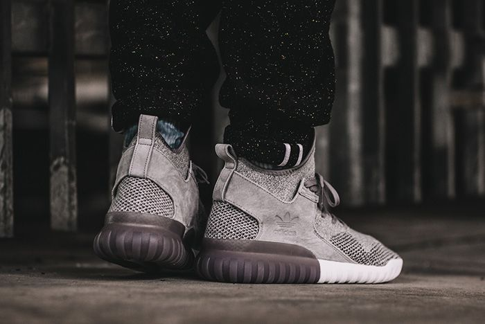 Adidas Tubular X Primeknit Solid Grey 2