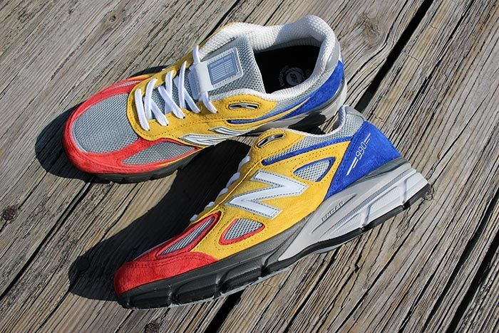 Shoe City X Eat X New Balance 990 V4 4