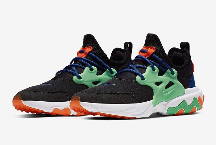 Nike Air Presto React Summer Black Green Orange