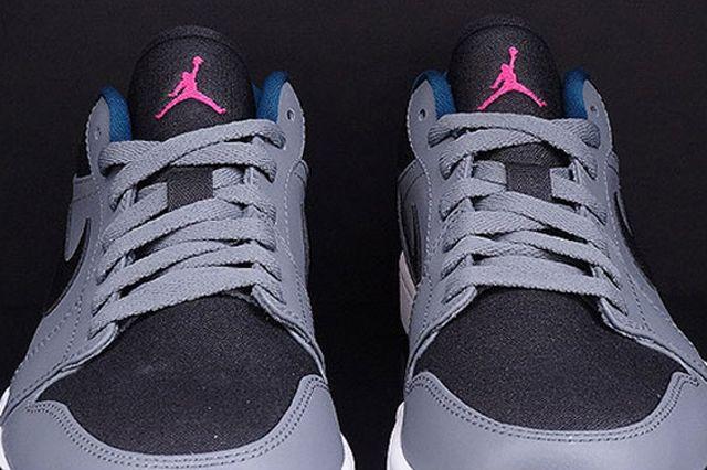 Air Jordan 1 Low Cool Grey Fusion Pink Space Blue 1