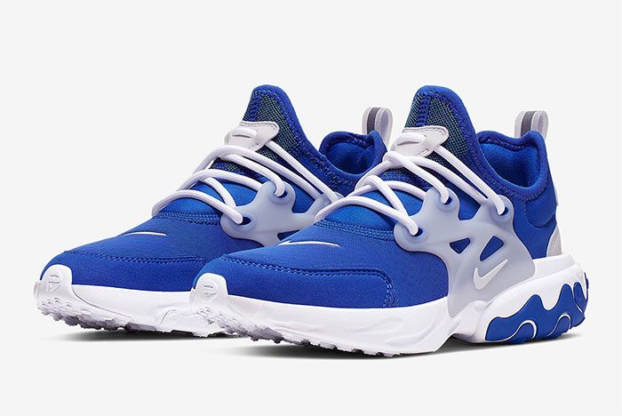 Nike Air Presto React Summer Blue White