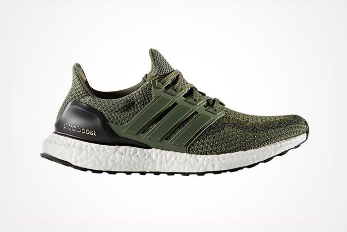 Adidas Ultra Boost Olive Green 1