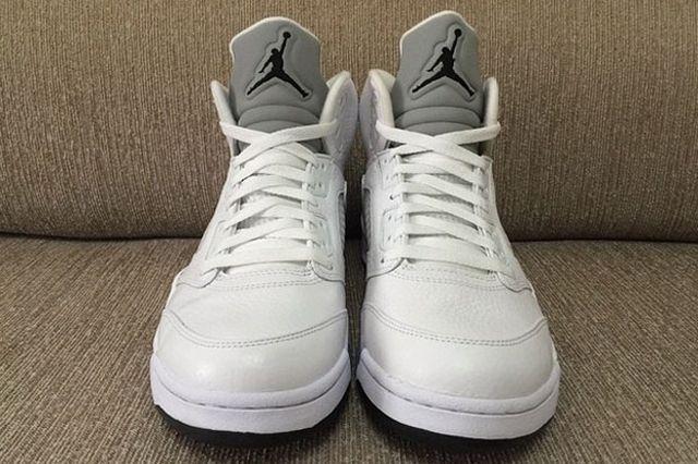 Air Jordan 5 White Metallic 3