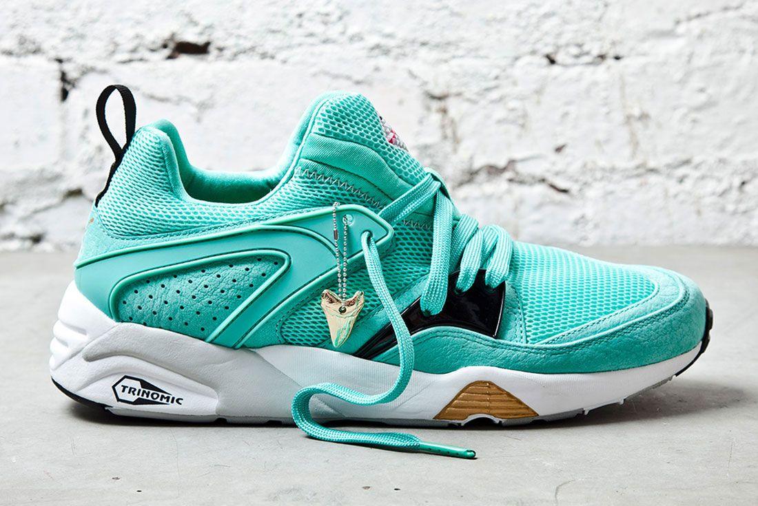 Puma Sneaker Freaker Shark Mint 1 Side