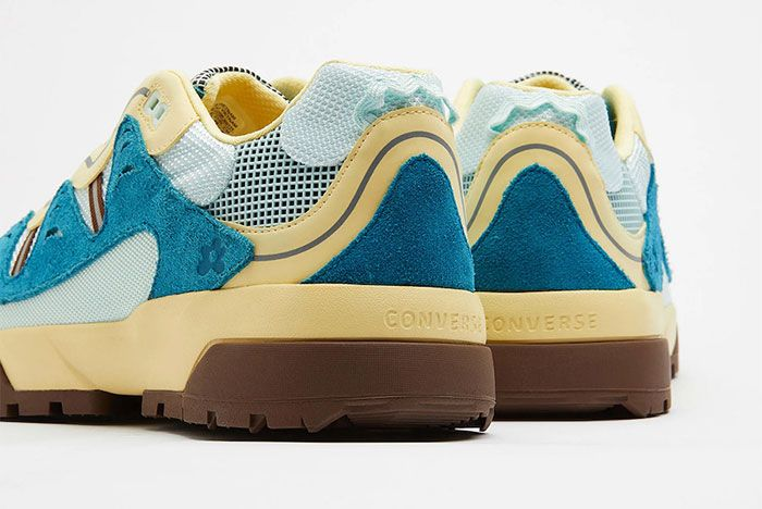 Golf Le Fleur Converse Gianno Blue Rear Detail