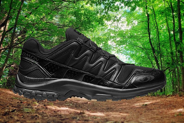 Salomon Ultra Adv Black Lateral