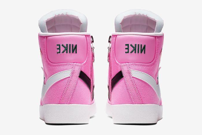 Nike Blazer Rebel Mid Psychic Pink Heels
