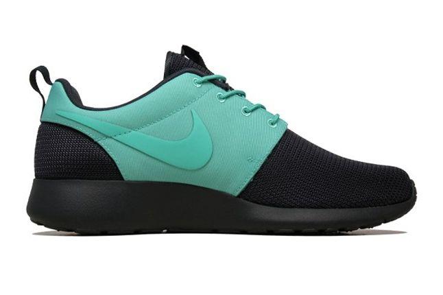 Nike Roshe Run 2Face Teal Inner Profile 1
