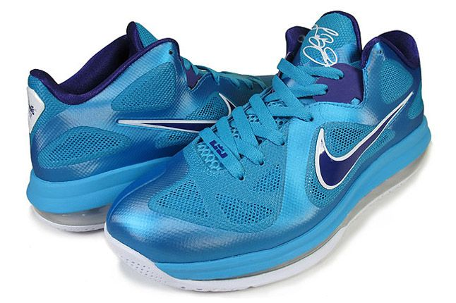 Nike Lebron 9 Low Summit Lake 01 1
