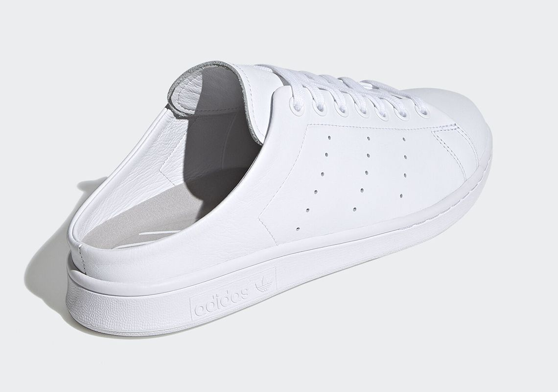 adidas Stan Smith Mule Cloud White Heel