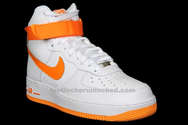 Nike Air Force 1 Hi Vivid Orange 02 1
