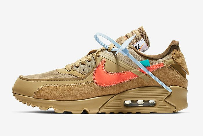 Off White Nike Air Max 90 Desert Ore Release Date 1