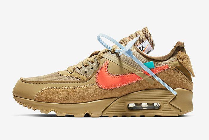 Off White Nike Air Max 90 Desert Ore Release Date 1