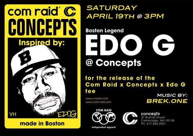 Comraid X Edo G Tee 3