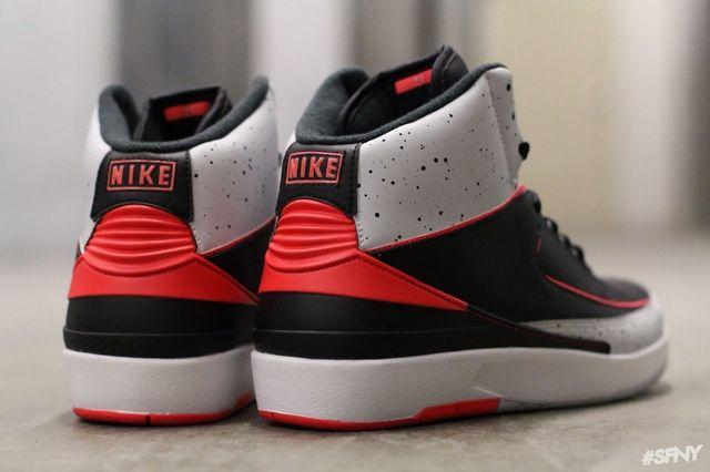 Air Jordan 2 Infrared Cement 2