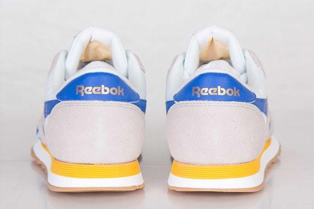 Reebok Classic Nylon R13 Gold Blue 5
