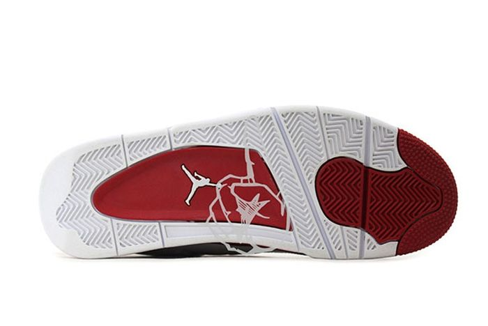 Air Jordan 4 White Red Olympic Pe 3