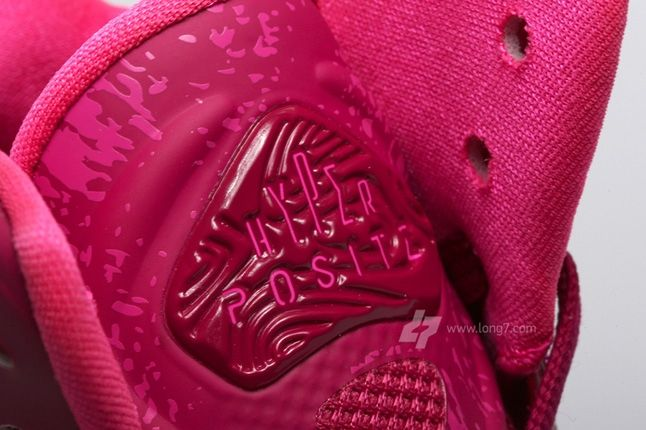 Nike Air Max Hyperposite Plum Tongue Detail 1