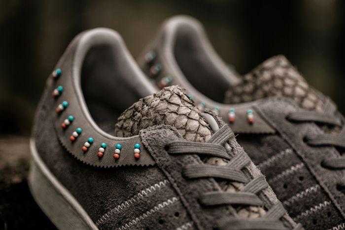 Invincible Adidas Consortium Superstar 80V 1
