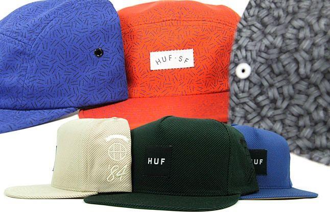 Huf Hats 2 1