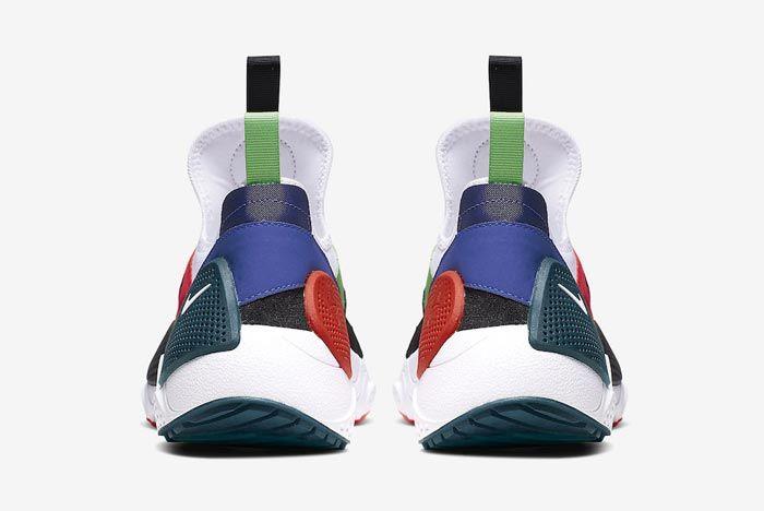 Nike Huarache Edge Txt Water Duck Blue Heels