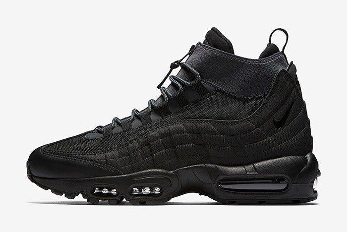 Nike Air Max 95 Sneaker Boot Triple Black 7