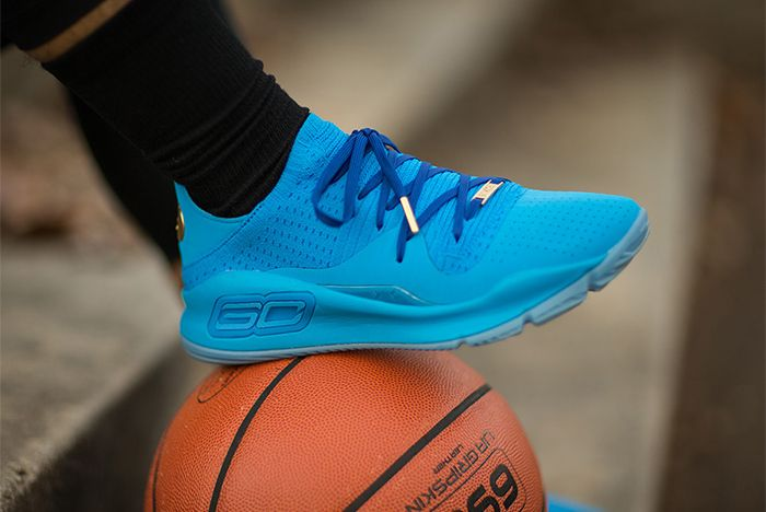Ua Curry 4 Low Blue Candy