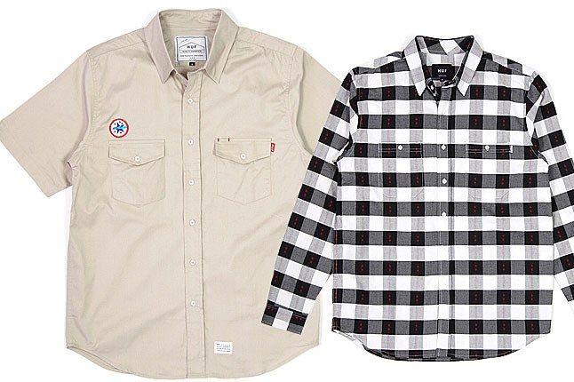 Huf Shirts 2 1