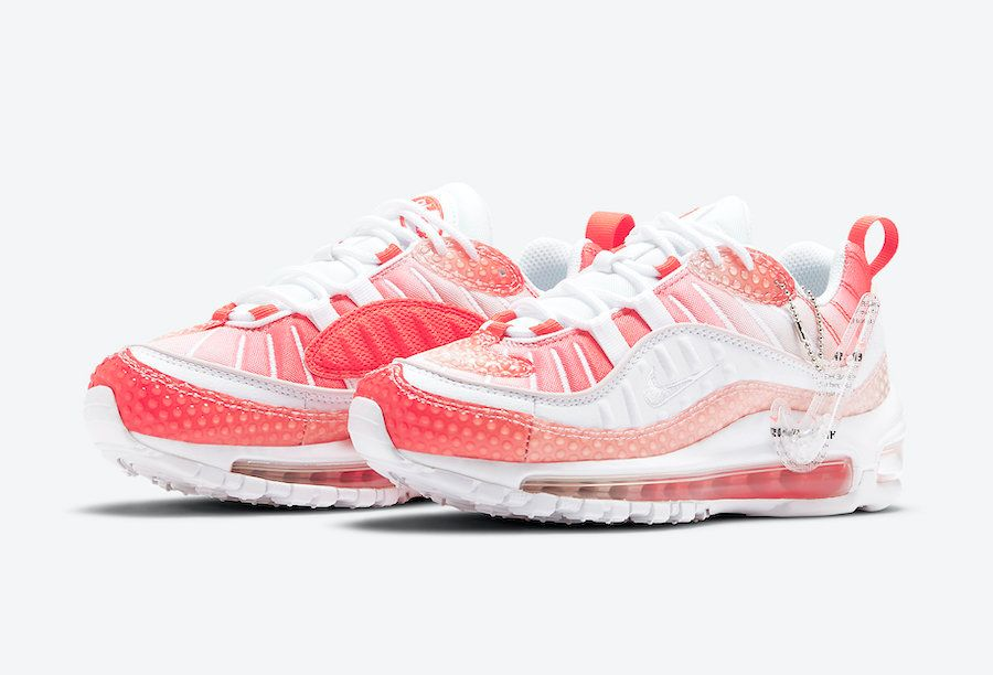 Nike Air Max 98 Bubble Pack Angled