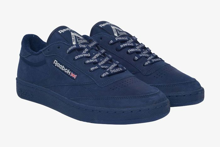 Reebok Palace Club C Navy Front Side
