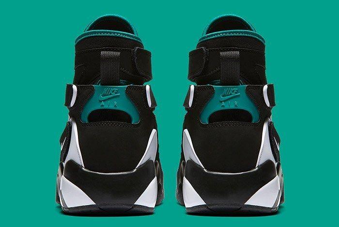 Nike Air Unlimited Retro White Black Emerald 1
